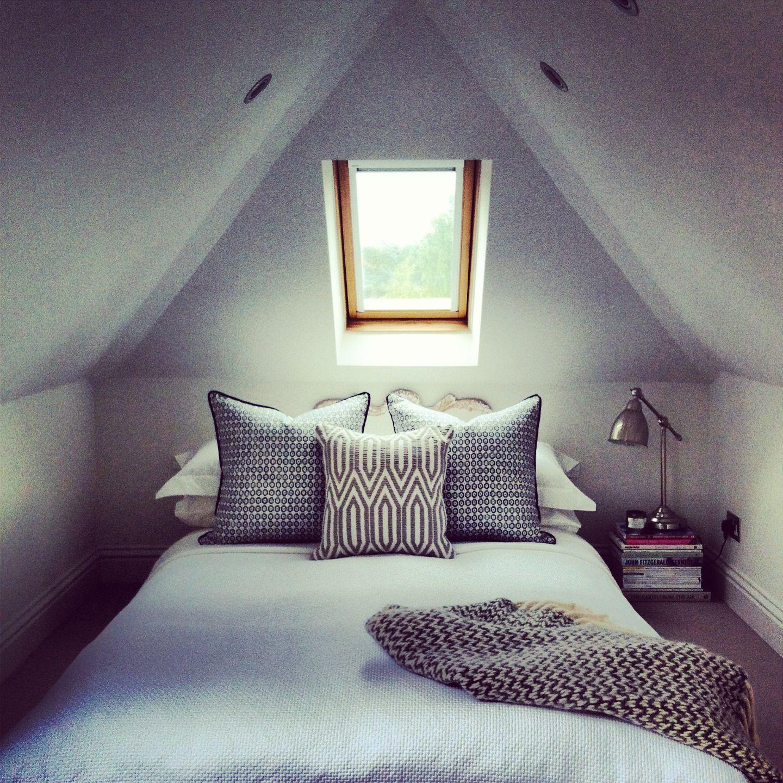 Small attic loft bedroom ideas  Loft living  Cottage ideas  Pinterest  Lofts Attic and Bedrooms