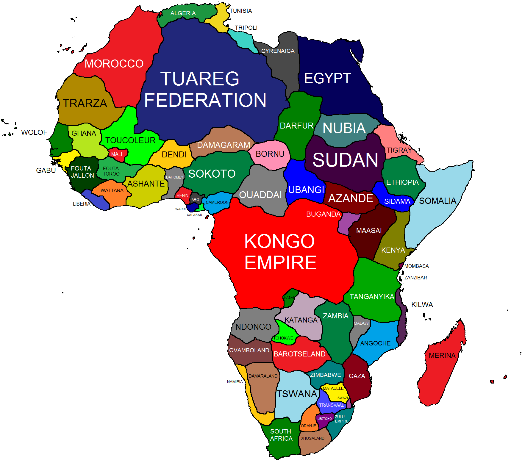 Alternate History   Africa favourites by Regicollis on DeviantArt