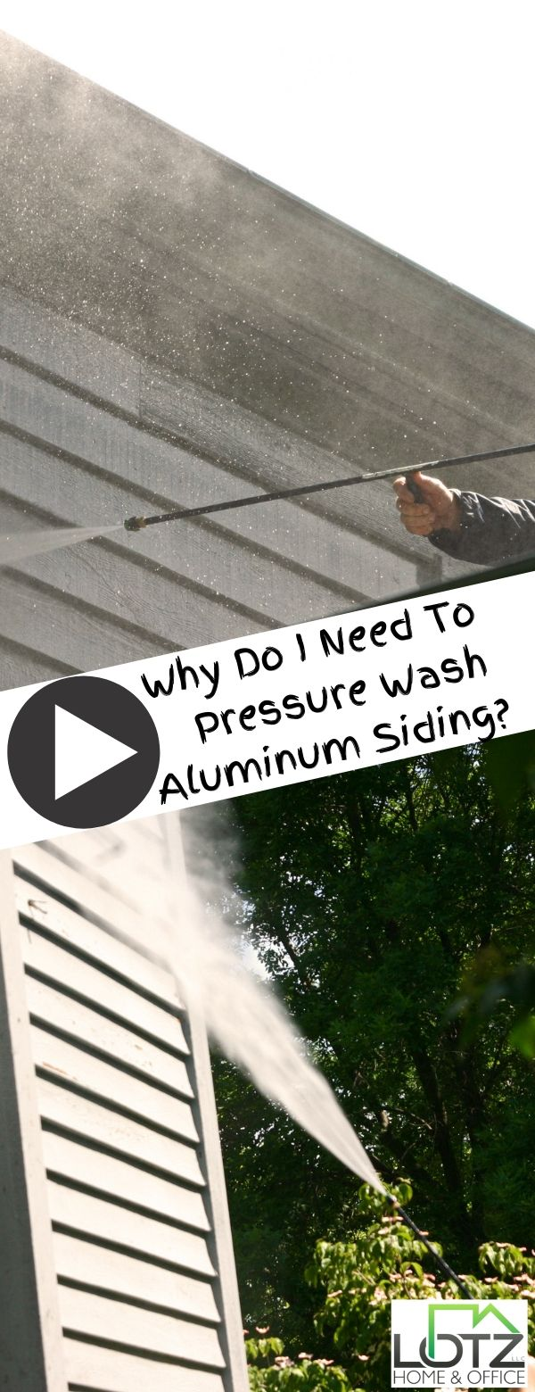 At Least One Of The Best Things About An Aluminum Sided House Is The Low Maintenance That Doesn T Mean It Is Zero Main Aluminum Siding Siding Pressure Washing
