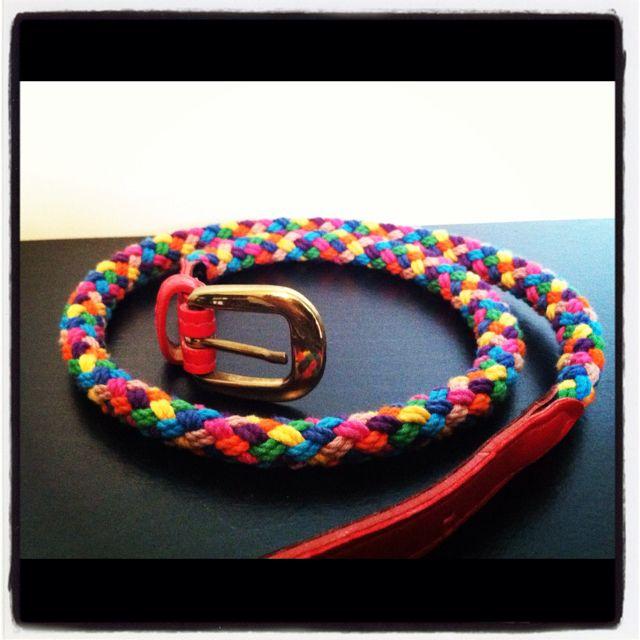 Vintage summer colors belt $8