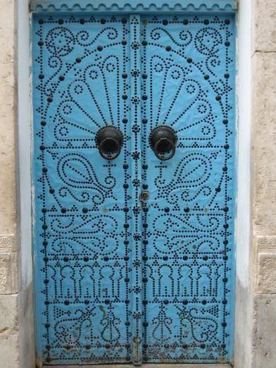 Another Tunisian door pattern