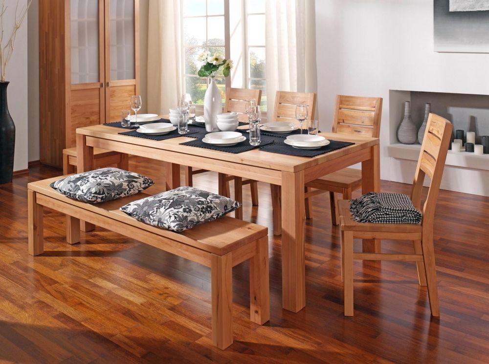 GENUA Maßtisch, Esstisch nach Mass passende Stühle und