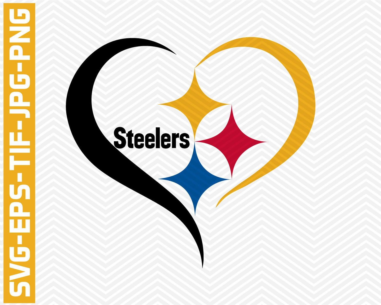 Pittsburgh Steelers svgepstifpdfpngvector filesNFL Etsy