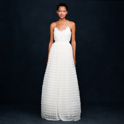 JCrew - RIBBON AND TULLE BALL GOWN SKIRT item 09682 $595.00