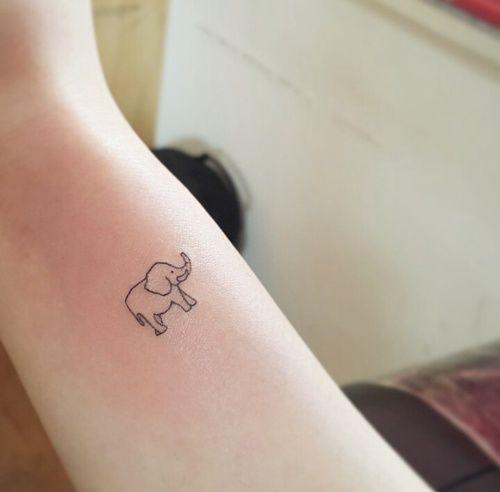 Imagem de tattoo, elefante, and elephant
