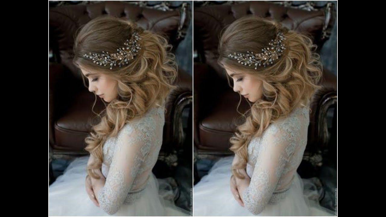 تسريحات شعر 2020 للعروس Hair Styles Elegant Hairstyles Girl Hairstyles
