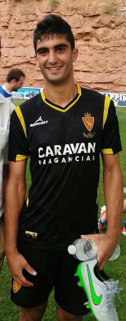Real Zaragoza 2015/16 12ª incorporación (jugador nº 701). Iñaki Olaortua