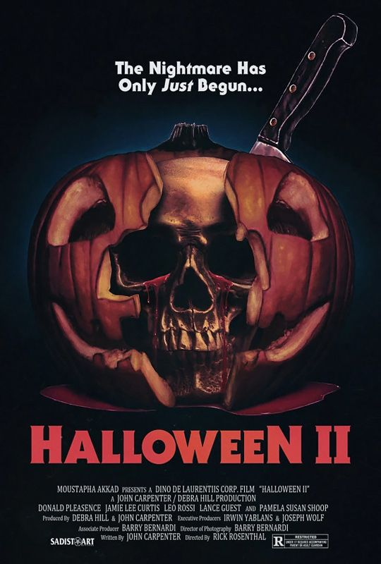Image result for halloween II poster
