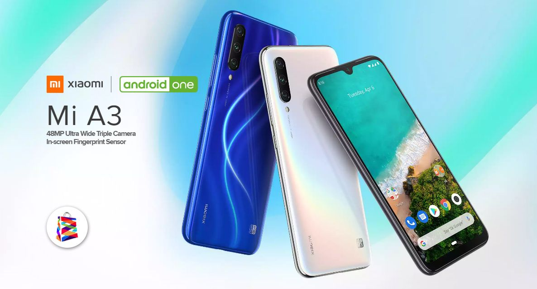 Xiaomi Mi A3 64GB 4GB Ram Blue in 2020 Android one