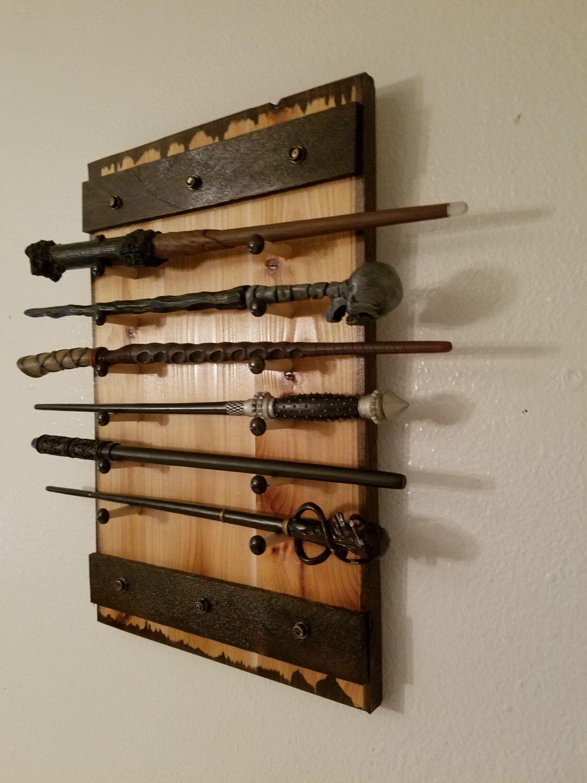 Harry Potter Wand Holder Holds 1 To 12 Wands Wand Rack Wand