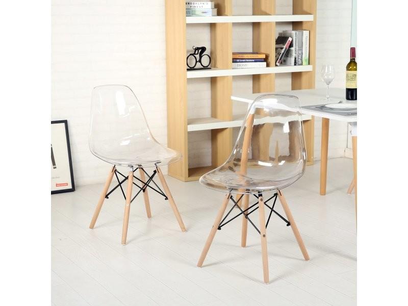 Chaise Fredrik Transparente Lot De 2 Reupholster Furniture Transforming Furniture Chaise