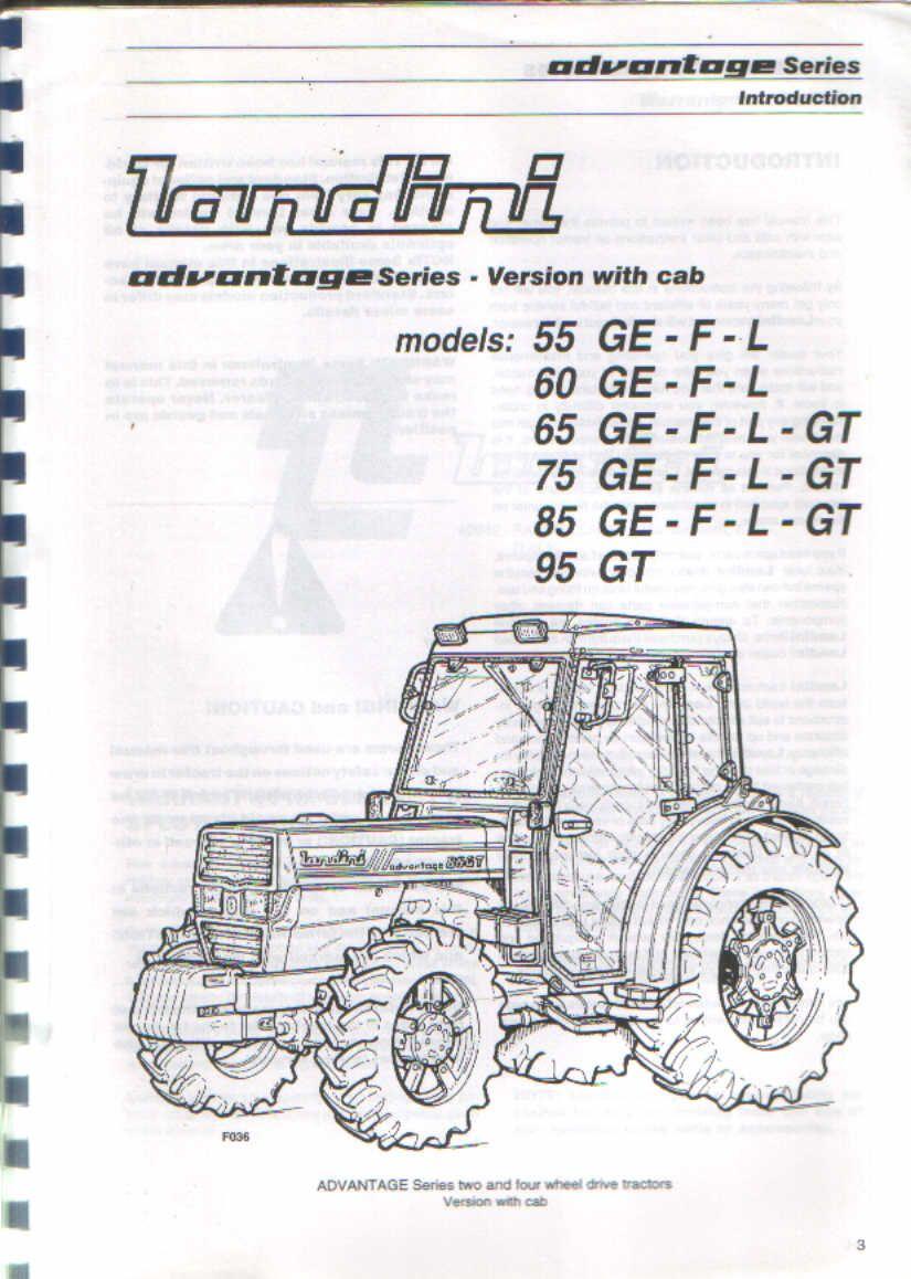 Landini Advantage 75gt Parts Catalog Download Parts Catalog Catalog Repair And Maintenance