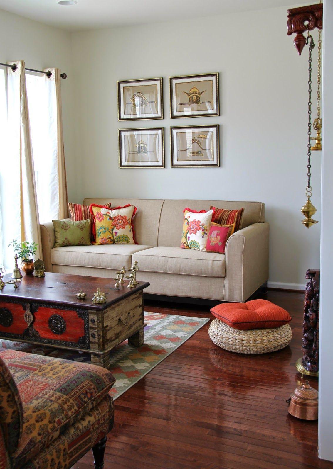 Radzhi Sood Glaz Konfety Pered Divali Indian Interior Design Indian Living Rooms Small Living Room Decor
