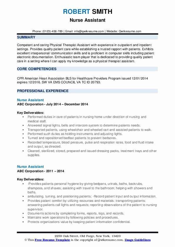 20 assistant Nurse Manager Resume in 2020 | Teacher resume ...