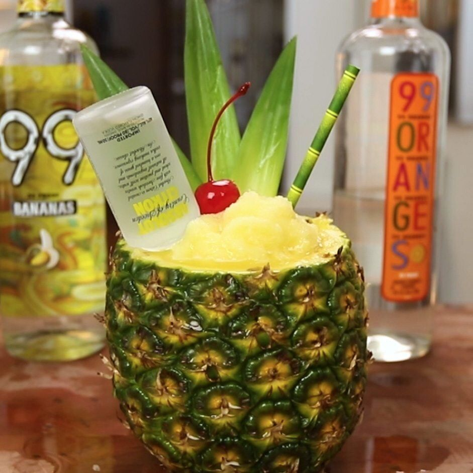 PARADISE BREEZE Pineapple   Tipsy Bartender   Pineapple