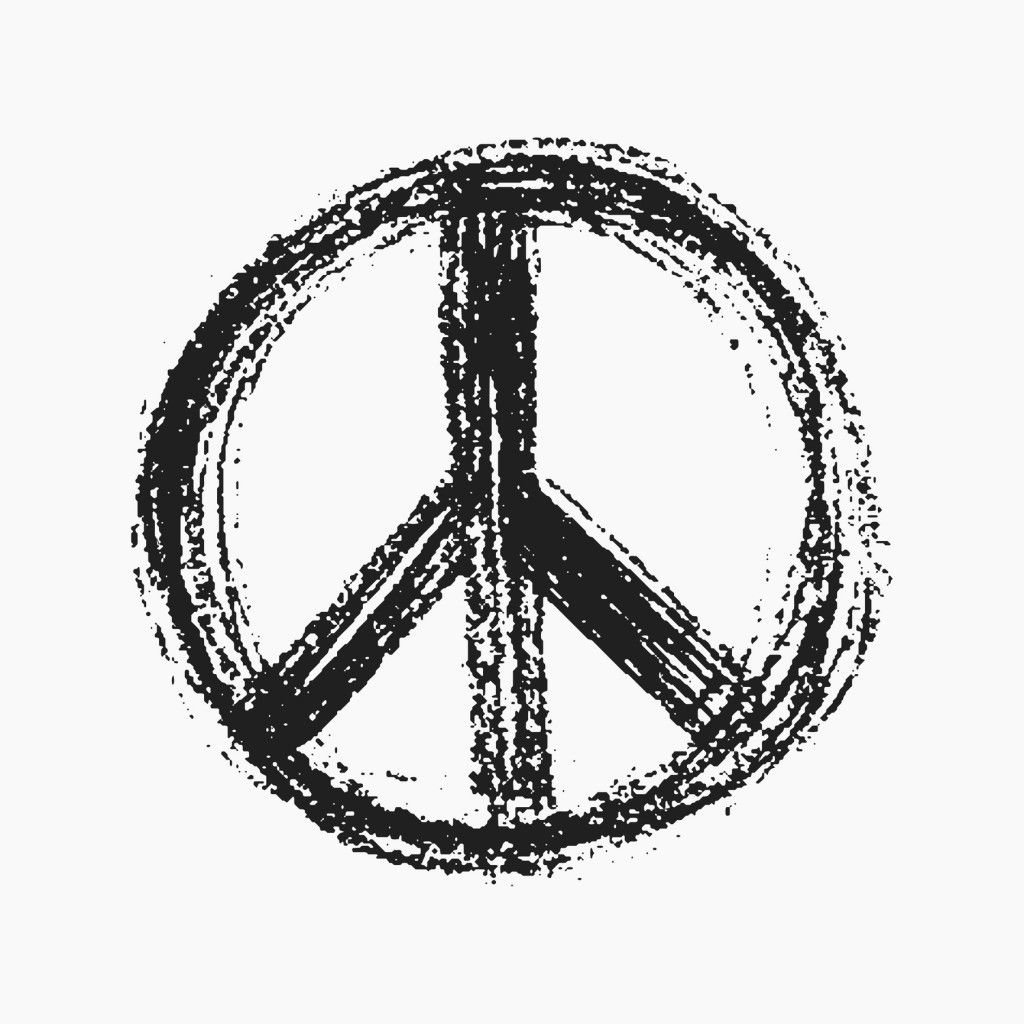 Cool Peace Sign Tattoo Tatoo Pinterest Peace Sign Tattoos