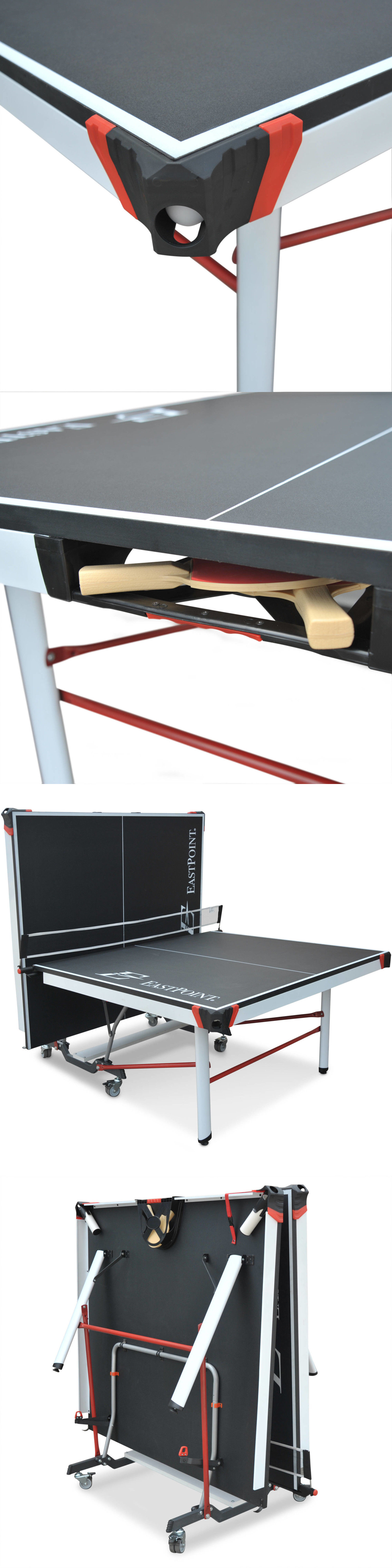 Sets 158955: Eastpoint Sports Eps 5000 2 Piece Table Tennis Table   25Mm Top