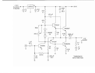 10 W Audio Amplifier Circuit în 2020