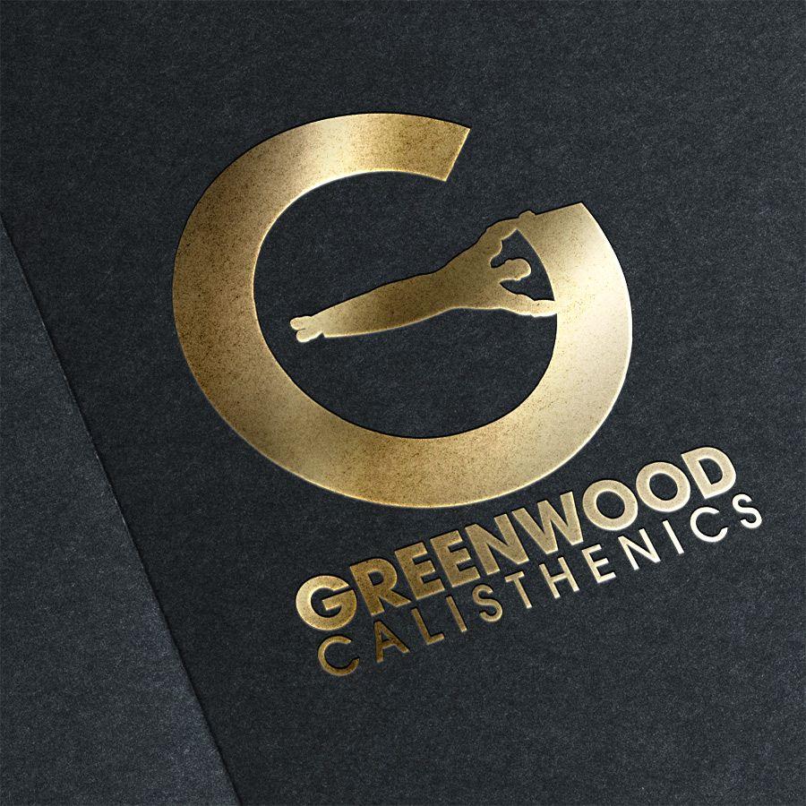 Greenwood Calisthenics #logo #design #gold #calisthenics