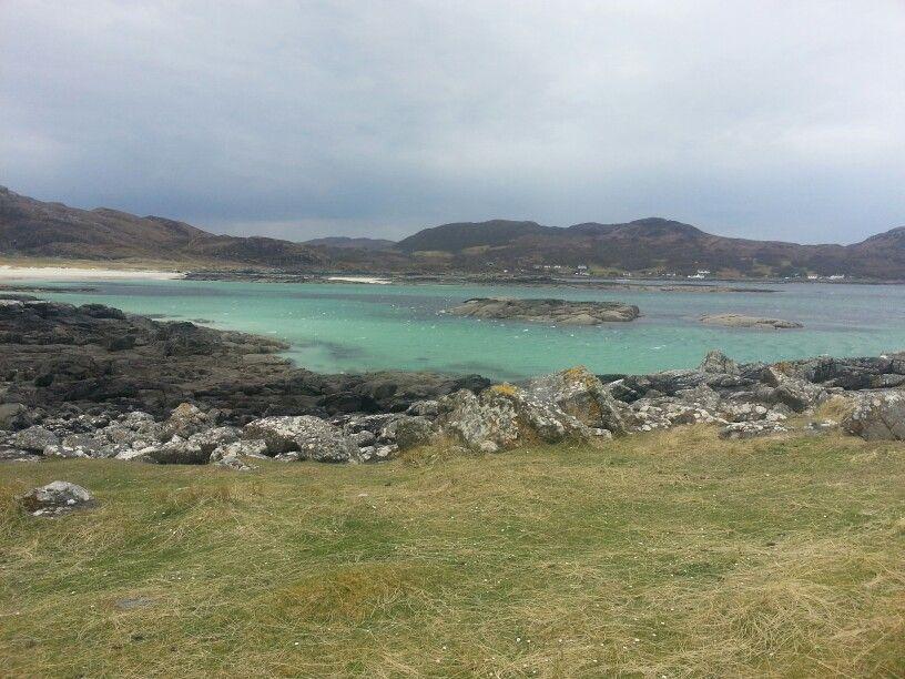 Most beautiful beach in Scotland