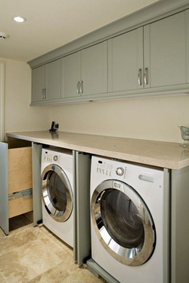 40 extraordinary laundry room decor ideas for small spaces on extraordinary small laundry room design and decorating ideas modest laundry space id=21419