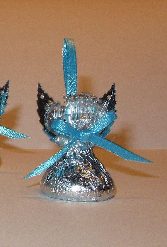 Chocolate Candy Angel Wedding Favor Bridal Shower Favor Baptism
