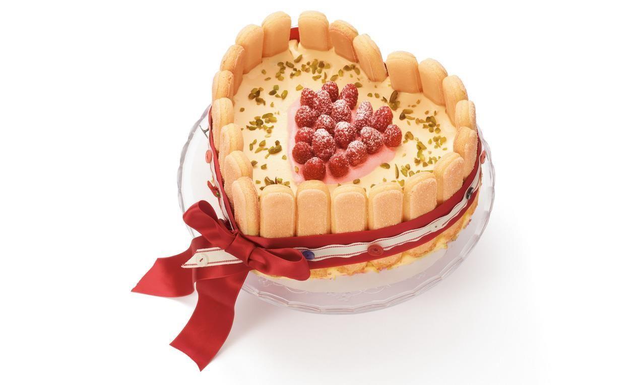 Himbeer Herz Torte Rezept Dr Oetker Baking Dessert Desserts