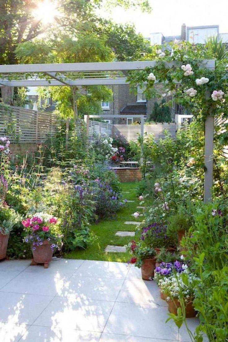 Schöne kleine Gartenideen für Hinterhofinspirationen 56 - Garten #cottagegardens