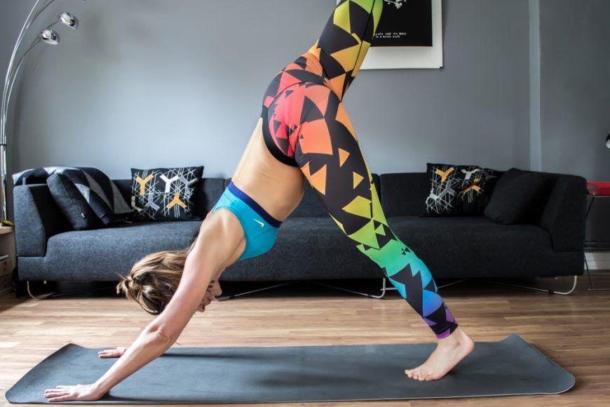 flache Bauchübung für Frauen