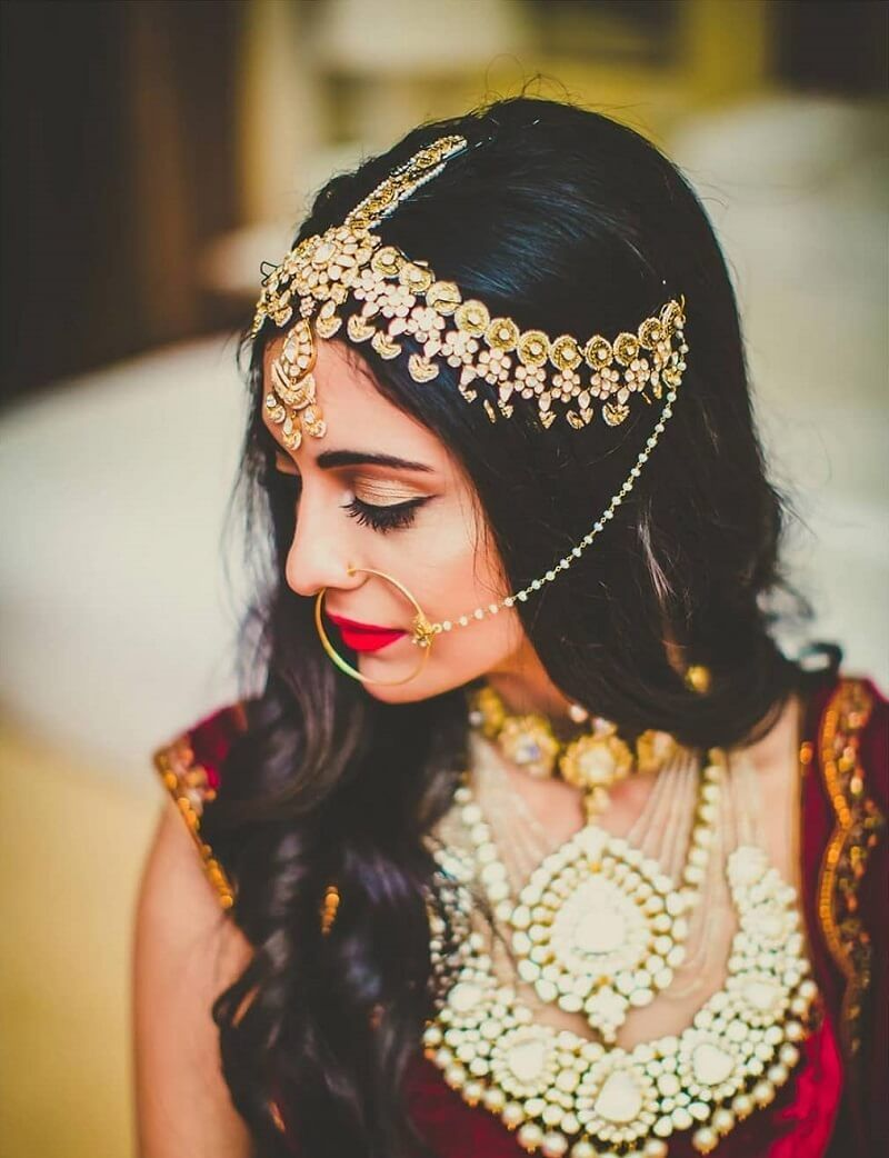 Matha Patti Designs For 2020 Brides To Flaunt Like A Diva At Their Wedding!  | Traditional wedding accessories, Bridal accessories, Wedding accessories