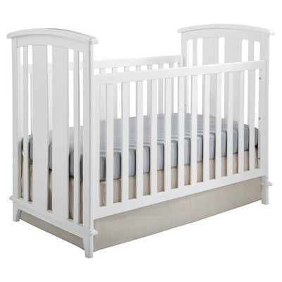 Kolcraft White Toddler Bed Rail