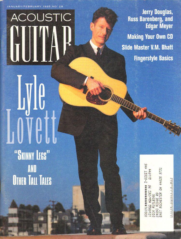 1995 Jan Feb Acoustic Guitar Magazine Back Issue Acoustic Guitar Magazine Guitar Magazine Guitar