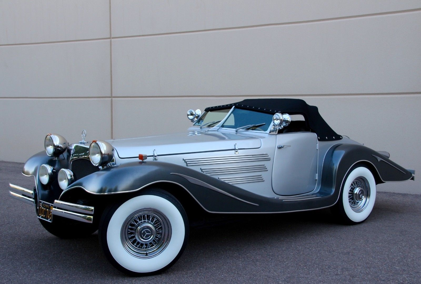 Old School 1934 Mercedes Benz 500k 540k Replica Replica Cars For