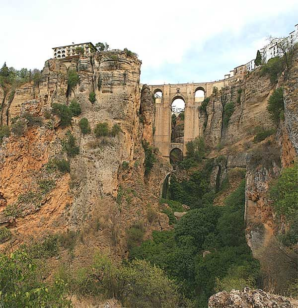 Ronda Spain We Stayed At A Hotel Close To This Amazing Bridge