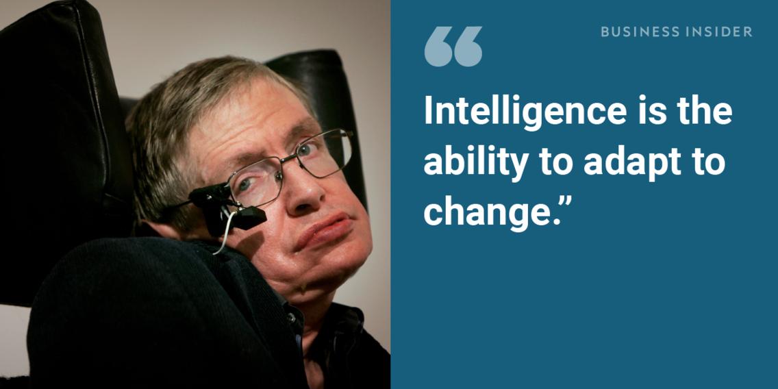 On the purpose of intelligence:
