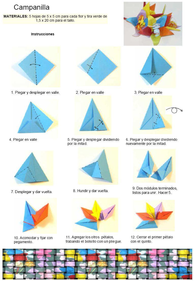 origami modular diagramas