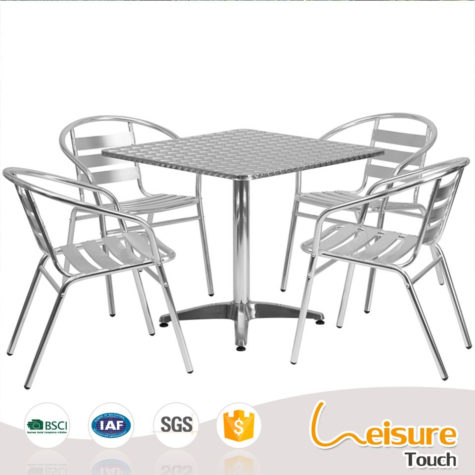 outdoor cafe table and chairs. Popular Outdoor Cafe Cheap Bar Furniture Sets Aluminum Bistro Table And Chair Chairs T