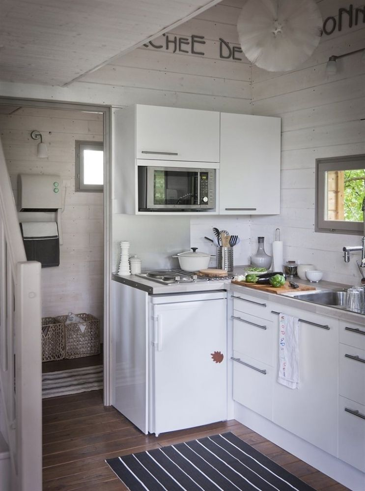 Маленькая кухня гардероб Pinterest House and Kitchens - rampe d eclairage pour cuisine