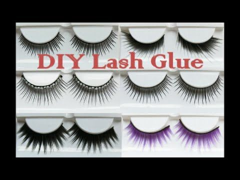 HOW TO MAKE YOUR OWN EYELASH GLUE WITH RICE?! - YouTube ...