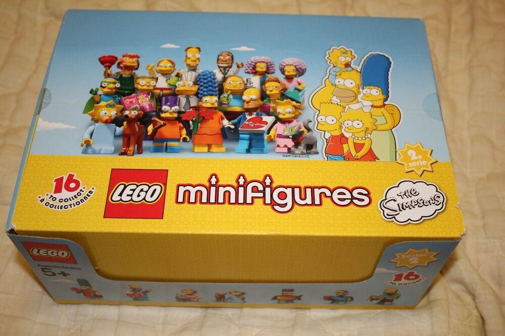 LEGO 71009 SIMPSONS 2 MINIFIGURE Serie completa Lego 71009 Simpsons Minifigures