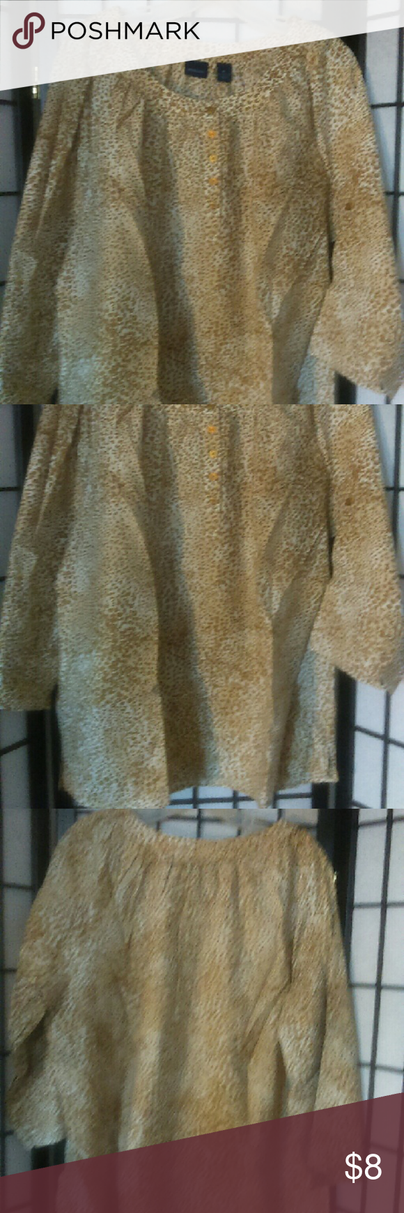Blouse Leopard print Westbound Tops Blouses