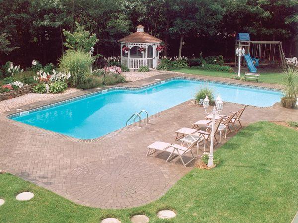 True L Pool Inground Pool Designs Pool Dream Backyard