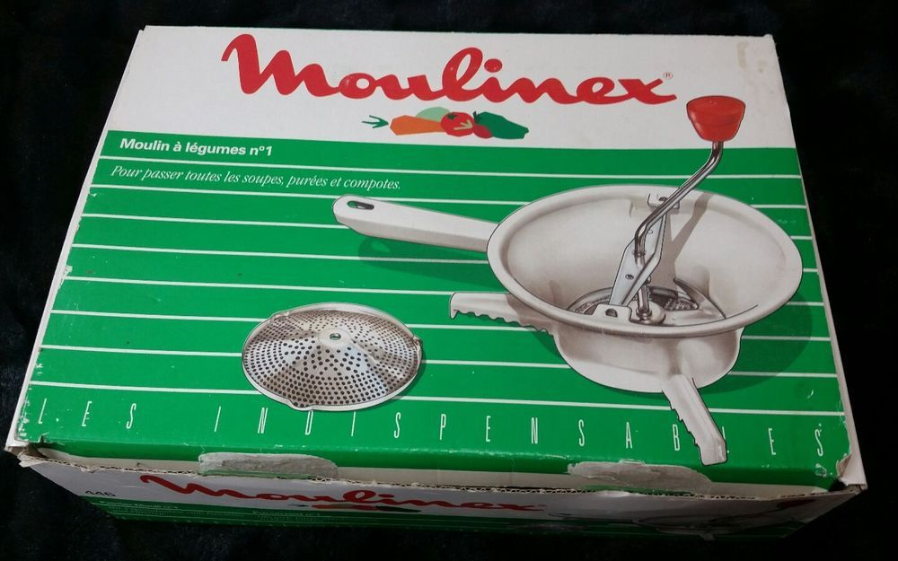 Moulinex küchenreibe ~ Vintage moulinex rotary food mill moulin legumes no made in