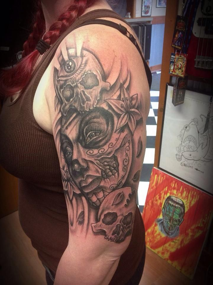 Done By Stelios From Eternal Tattoos In Howell Michigan 248