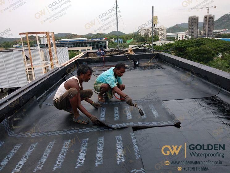 Golden Waterproofing Bitumen Waterproofing Services Terrace Bitumen W Terrace Gripe Water Waterproofing Basement