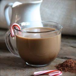 Homemade Peppermint Mocha Coffee Creamer