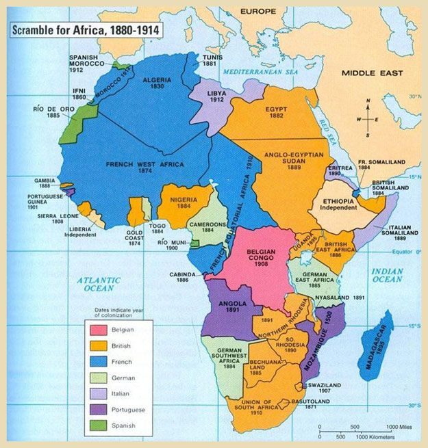 Scramble of Africa, 1880 1914 | Influences on Tom in TIDE (John