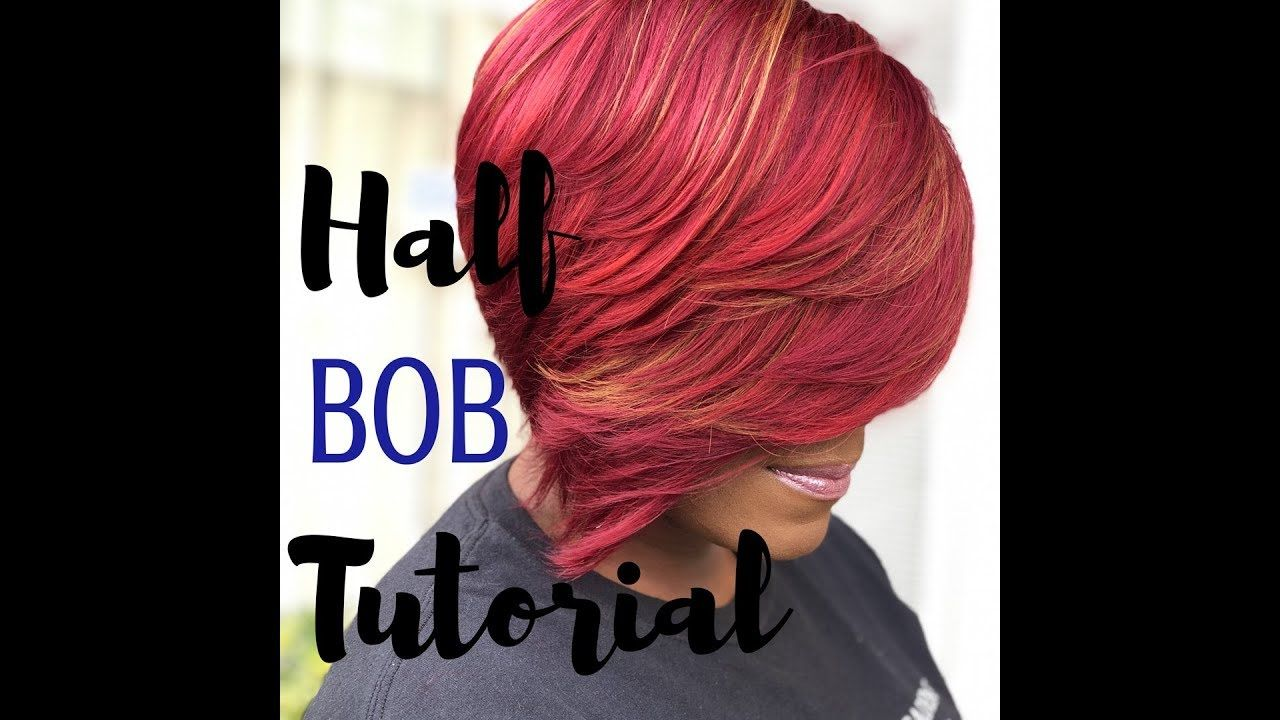 how to do a 28 pcs half bob   hair extensions & technique