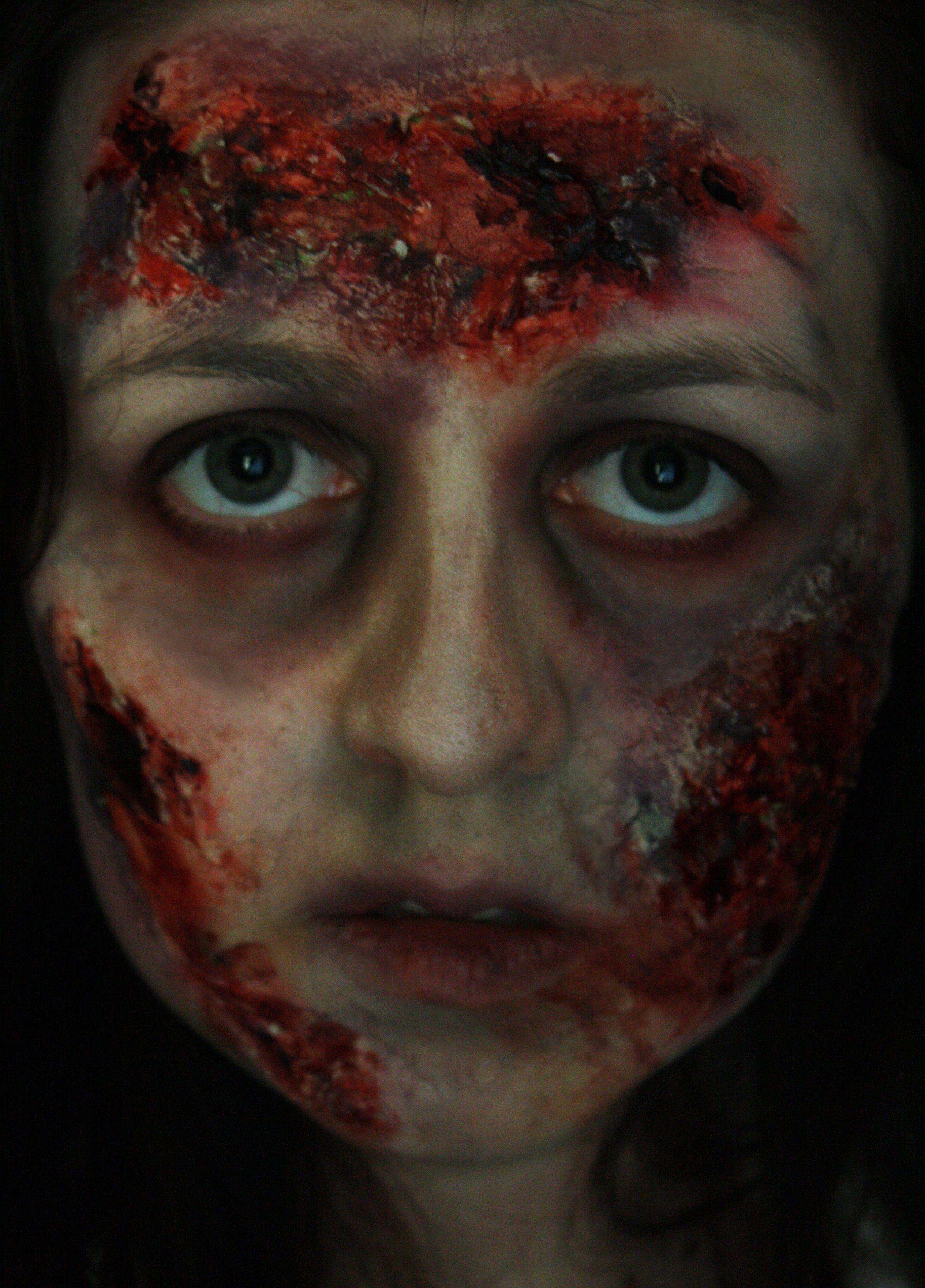 halloween zombie makeup   zombies   pinterest   zombie makeup