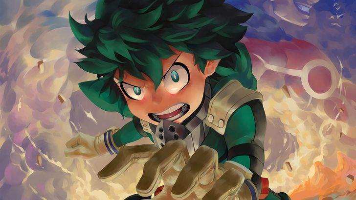 Izuku Midoriya My Hero Academia Wallpaper Heroe